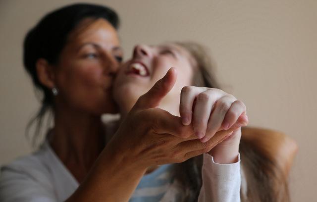 Laura z Mamą
