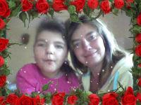 Marta Sadowska z mamą